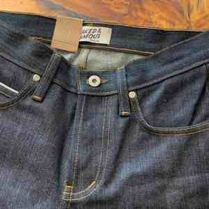 Naked & Famous Denim Super Guy Skinny Fit Left Hand Twill Selvedge Jeans