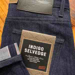 Naked & Famous Denim Super Guy Skinny Fit Indigo Selvedge Jeans