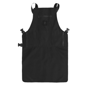 Knife and Flag Black Non-Porous Core Apron