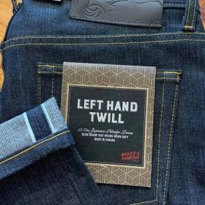 Naked & Famous Denim Left Hand Twill Weird Guy Tapered Leg Selvedge Jeans
