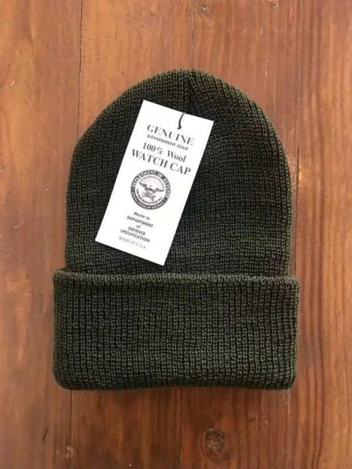 Rothco Wool GI Watch Cap Olive