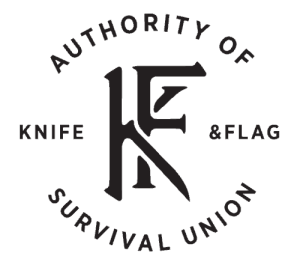 Knife and Flag Logo