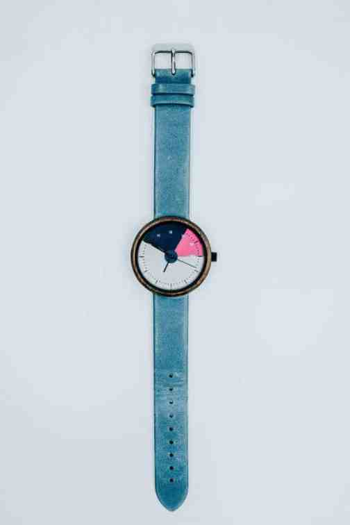 KIT Watches Vortex with teal strap