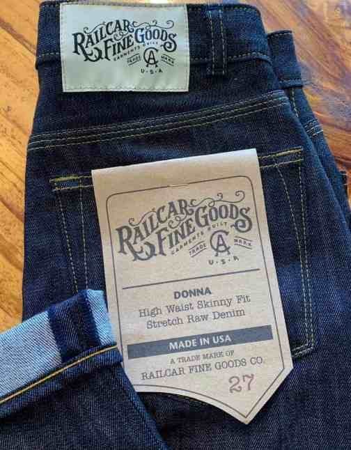 Railcar Fine Goods X031 Donna High Waist Skinny Jeans.