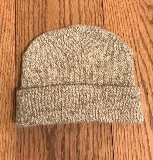 Ragg wool watch cap by Rothco.