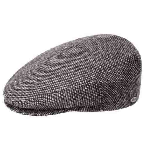 Lord Ivy Cap by Bailey of Hollywood in Black Nailhead.