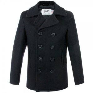 Schott NYC Navy 740 Peacoat
