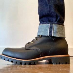 Chippewa Blaine 20028 Lace-up Boots Black Odessa