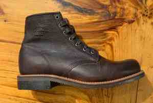 "Chippewa Smith Briar Pitstop 1901G25 6"" Lace-up Boots."