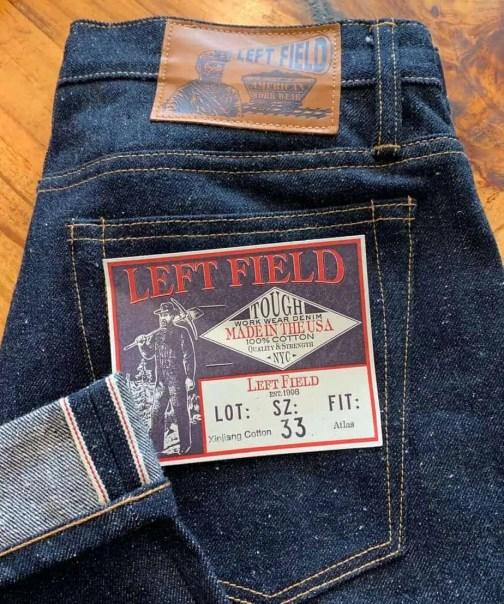 Left Field NYC Atlas Neppy 16 oz. Selvedge Jeans