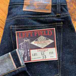 Left Field NYC Atlas Neppy 16 oz. Selvedge Jeans