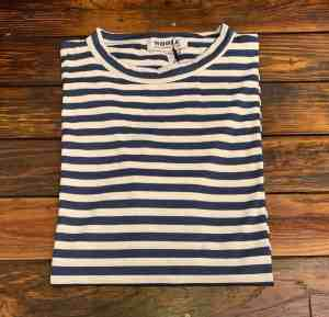 WHOLE Navy Striped T-shirt