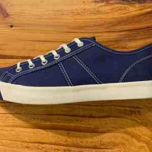 Colchester Rubber Co. National Treasure Navy Low Top Sneakers