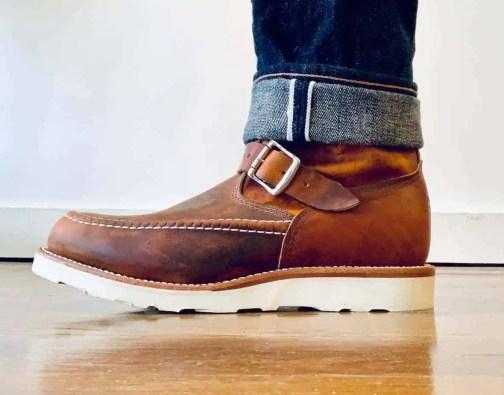 "Original Chippewa Elsmere 1901M08 7"" Moc Toe Boots"