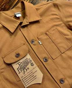 Railcar Fine Goods Duck Canvas Chore Coat.