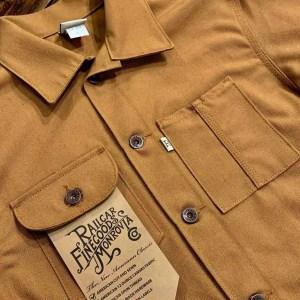 Railcar Fine Goods Duck Canvas Chore Coat