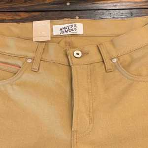 Naked and Famous Denim Super Guy Duck Canvas Selvedge