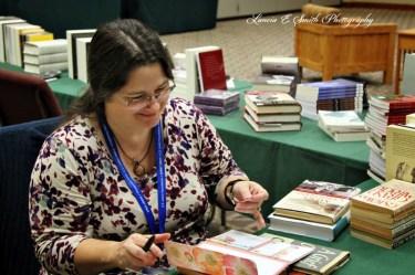 Becka at bookstore wm