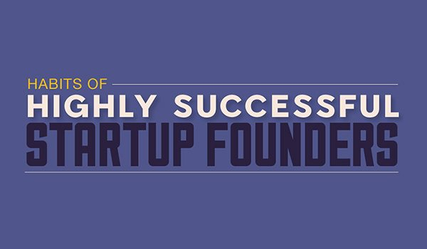 The Habits of Highly Successful Startup Founders [Infographic]