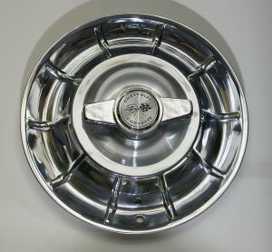 1956 1958 Corvette Hubcaps with Spinners (Set of 4) – New – GM Restoration Part