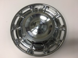 1959 1960 1961 1962 Corvette Wheel Cover Set Without Spinners 3759120