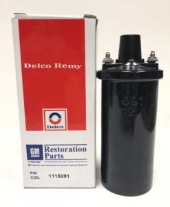 Corvette Transistor Ignition Coil – Delco 1115091 59-62 Carbureted all