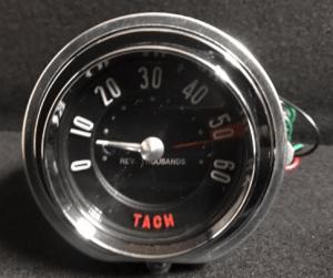 1958 6000 RPM Corvette Electronic Tachometer Assy 58 Tach