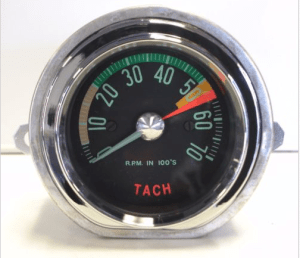 1961-62 Corvette Tachometer Assembly New Electronic Conversion Tach