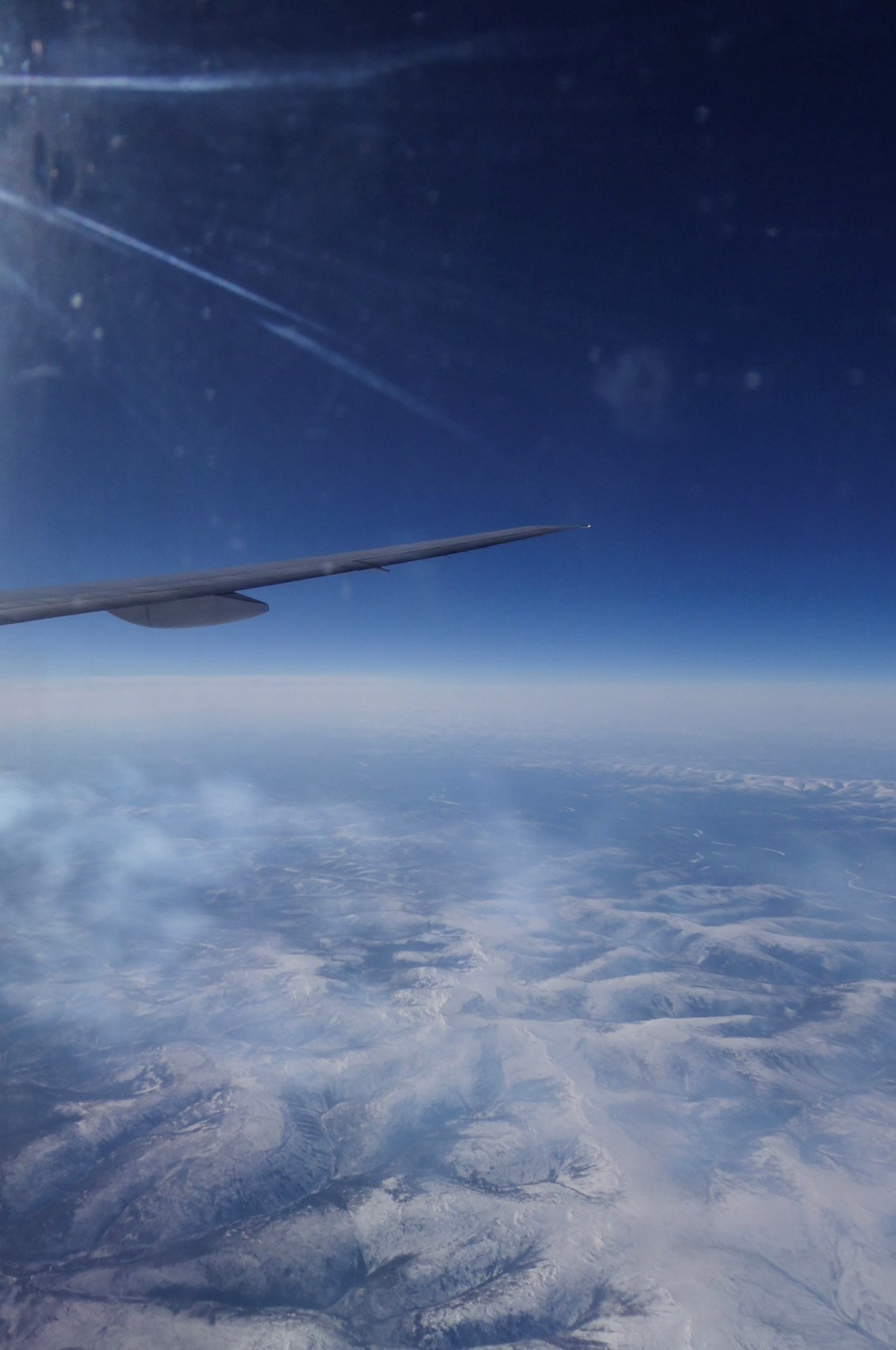 CSO flies over Siberia