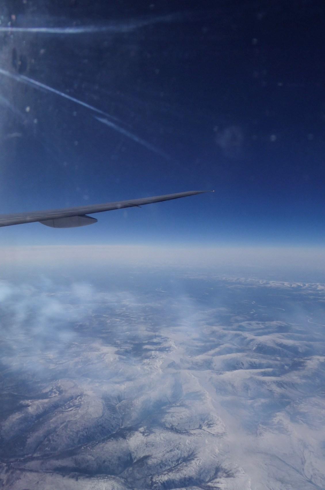 CSO flies over Siberia