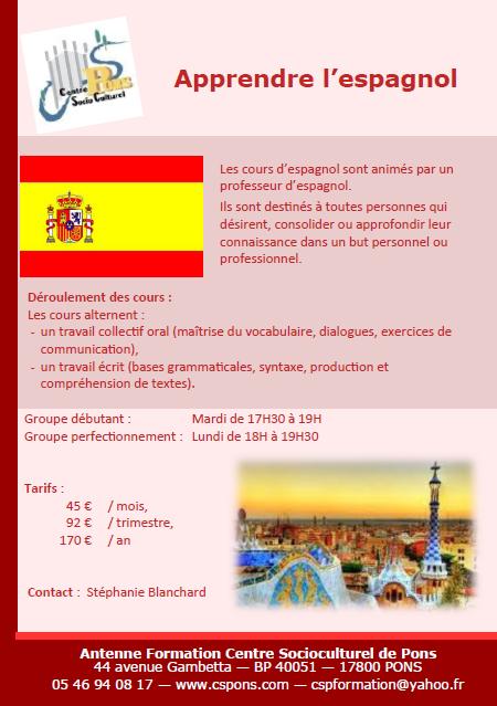 Espagnol 2015