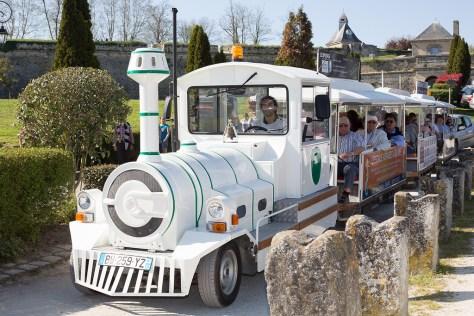 Train touristique Blaye