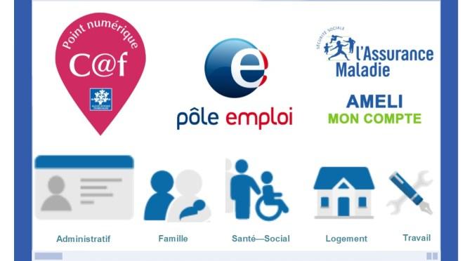 Un Point d'Accès numérique au Centre Socioculturel de Pons