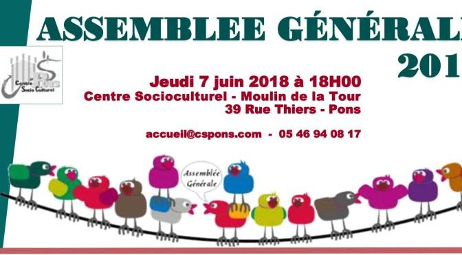 INVITATION A L'ASSEMBLEE GENERALE 2017
