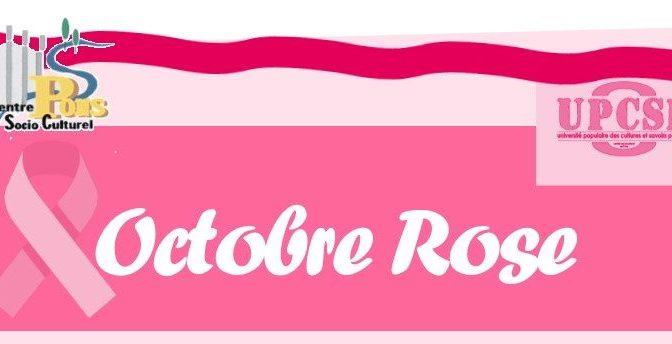 Le Centre Social se met en rose