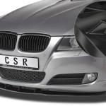 Spoilerschwert Frontspoiler Abs Fur Bmw E90 E91 3er M Paket Abe Schwarz Glanzend Car Styling Bumpers Vehicle Parts Accessories