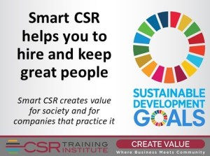 CSR: Another Way to Attract — and Retain — Great Employees