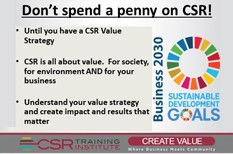 Don't spend a CSR Penny: (until you do this)