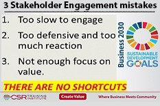 3 Stakeholder Engagement mistakes to avoid