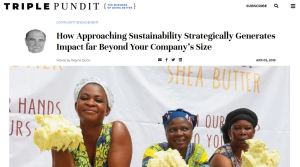 Strategic Sustainability Drives Business Growth for Baraka Shea Butter