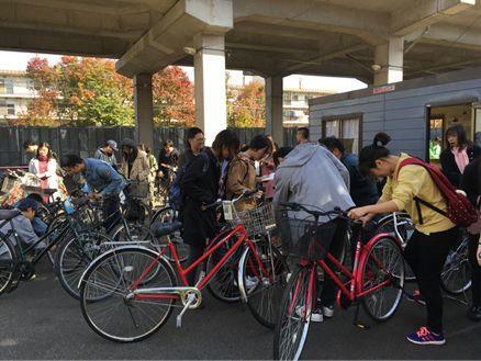【活动报道】2018年10月迎新会暨自行车发放活动