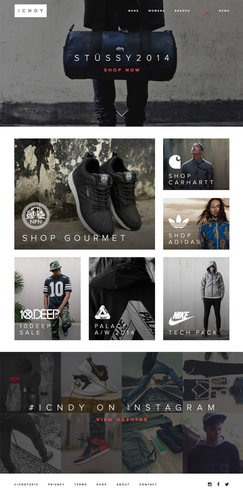 ICNDY E commerce Clothing Web Template Бесплатные шаблоны для интернет-магазина psd - ICNDY E commerce Clothing Web Template - Бесплатные шаблоны для интернет-магазина PSD