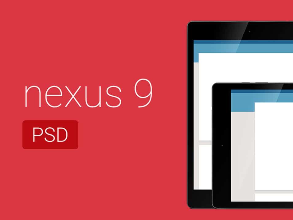 Free Nexus 9 PSD