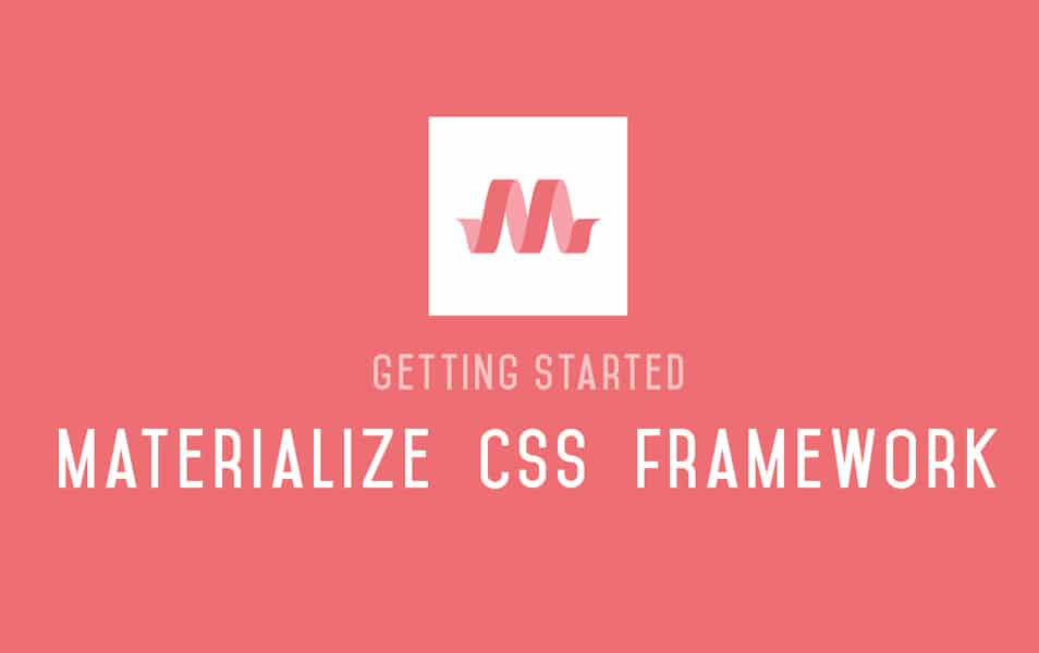 Make Material Design Websites with the Materialize CSS Framework
