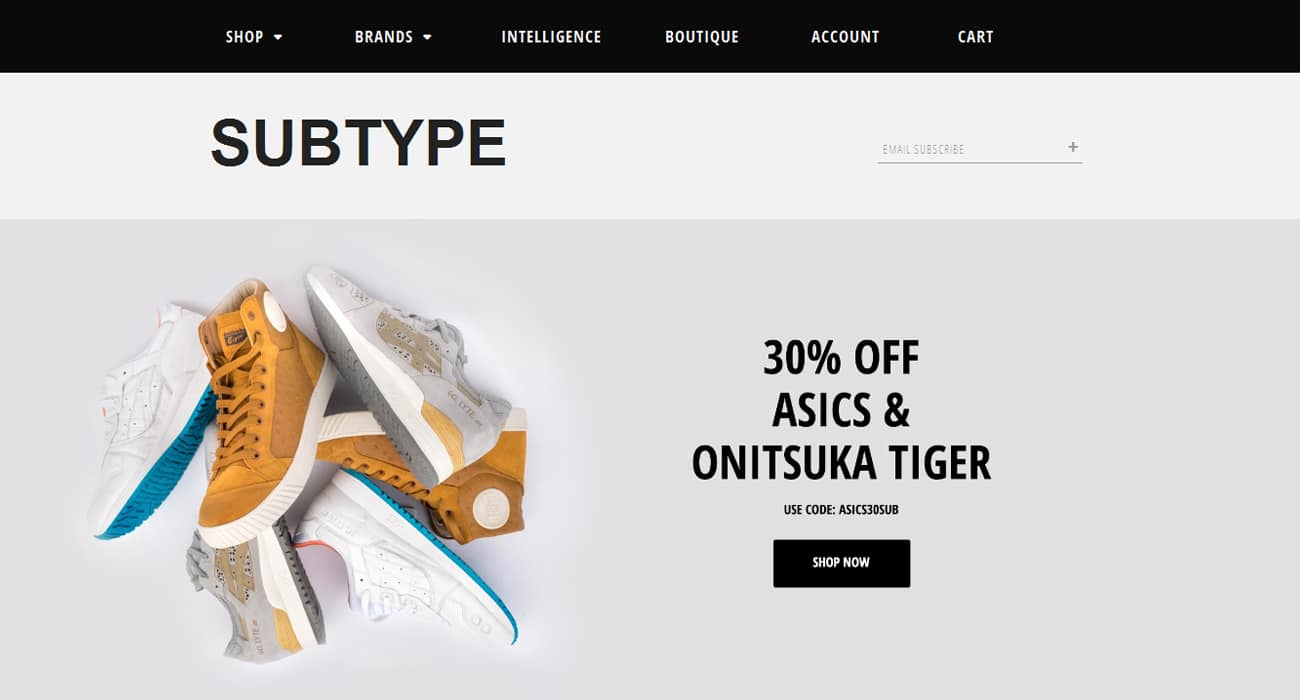 Subtype Store