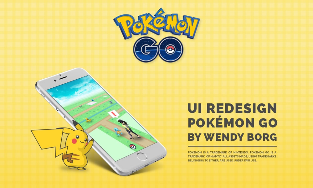 Pokemon GO UI Redesign