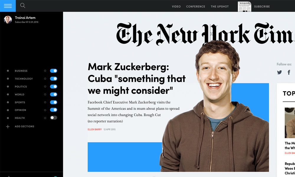 NYTimes Rethink Concept