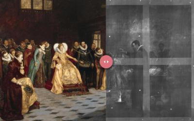 CSS JavaScript Image Comparison Slider Drag Divider