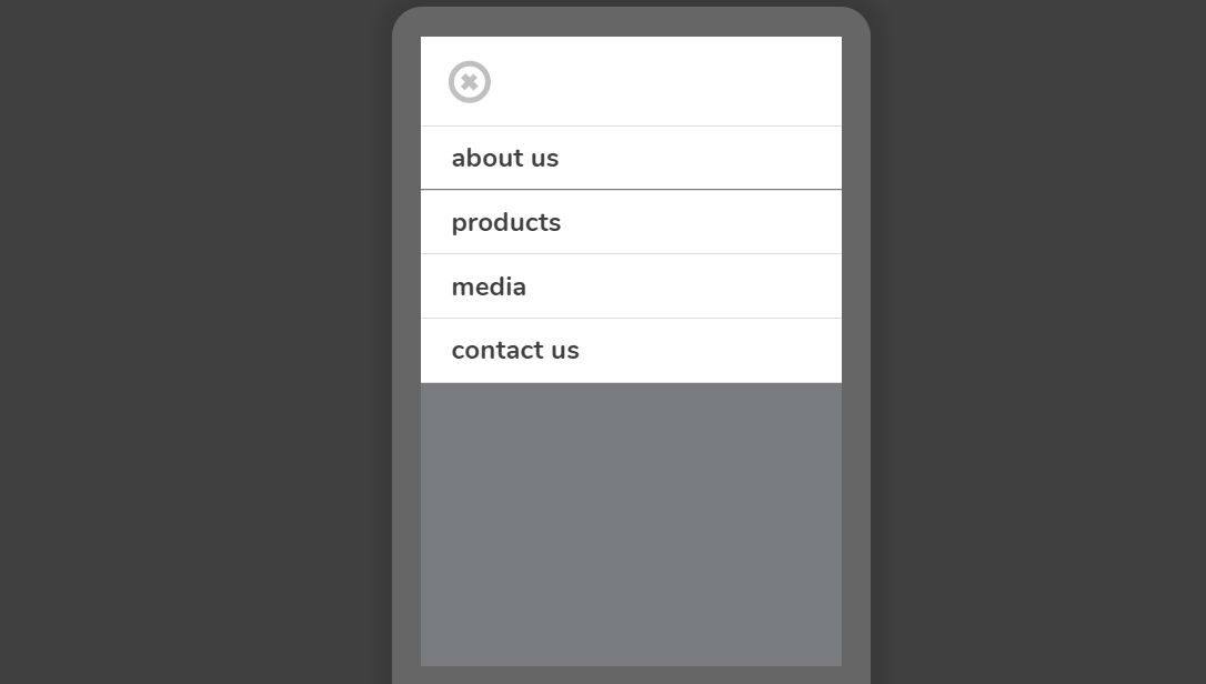 CSS Only Mobile Navbar with Checkbox Example