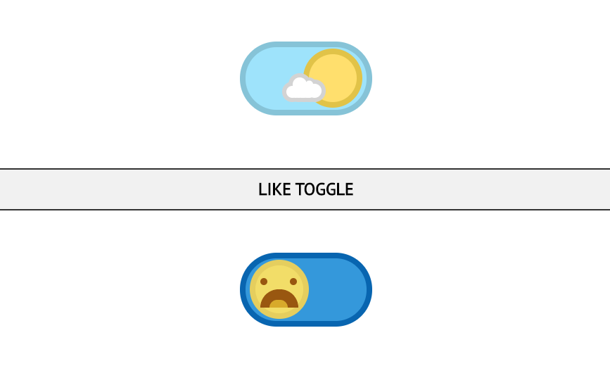 Funky CSS3 Toggle Buttons Collection (No JS)